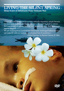DVD cover of Living the Silent Spring (Masako Sakata), from Zakka Films